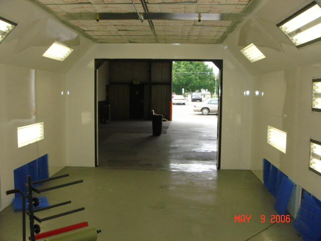 Paint Booth Consultant Llc Heated Side Down Draft Monroe